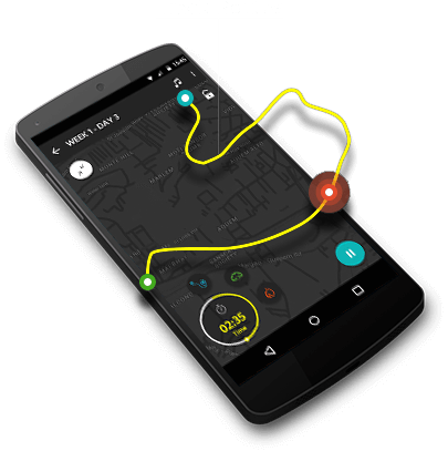 Track routes